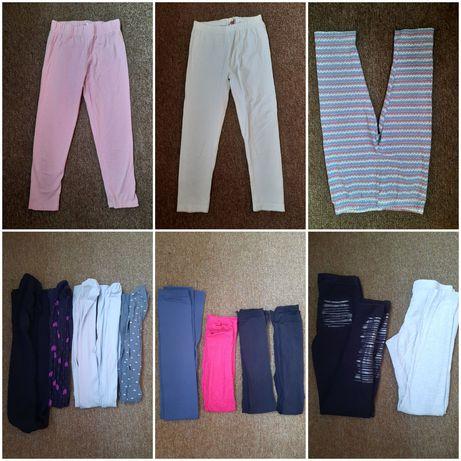 Paczka ubrań dla dziewczynki 134