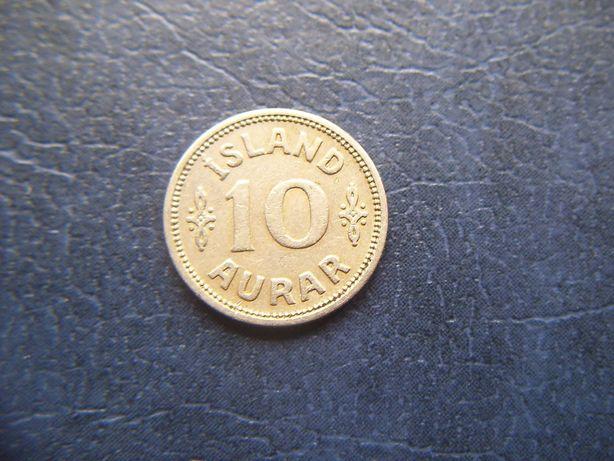 Stare monety 10 aurar 1929 Islandia