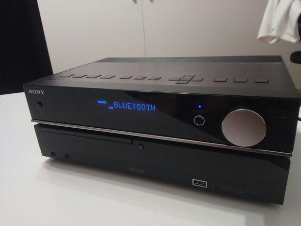 Mini wieża Sony Bluetooth AUX Radio CD USB  bez kolumn