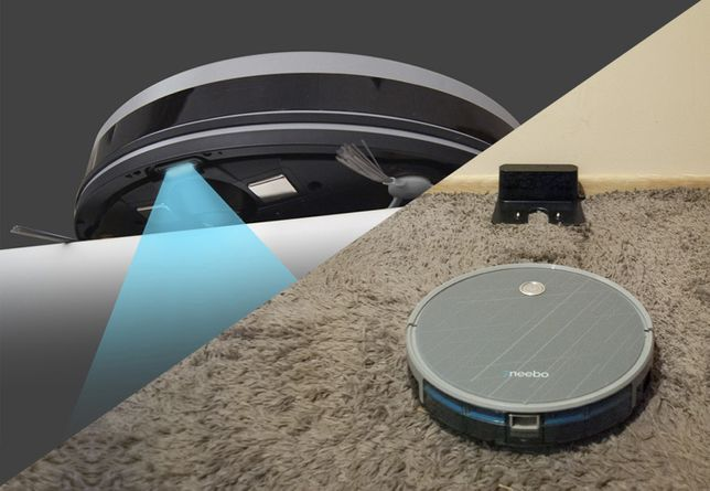 Najcichszy Robot Sprzątająco - Mopujący Grey+