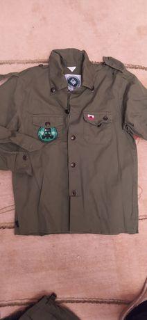 Bluza mundurowa harcerska 140cm