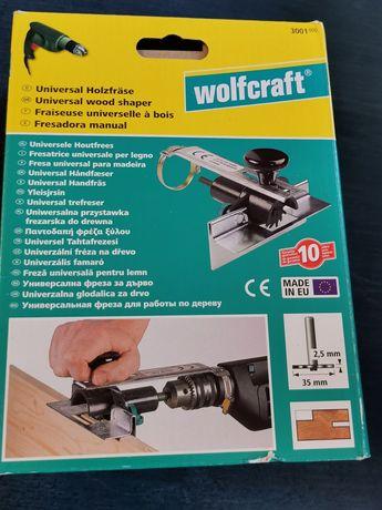 Frezarka uniwersalna do drewna Wolfcraft