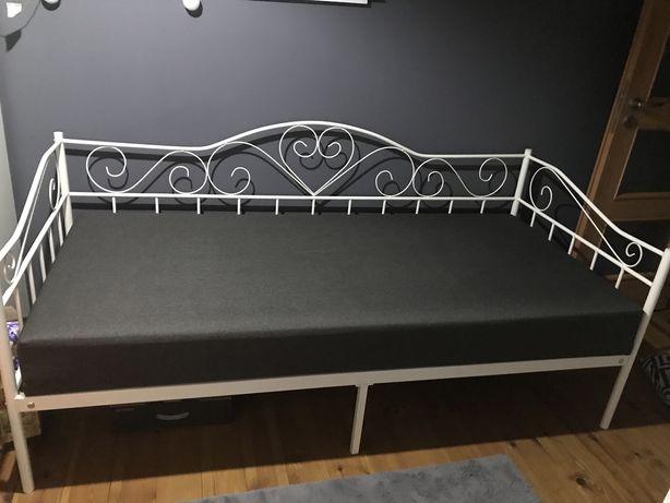 Łóżko metalowe + materac