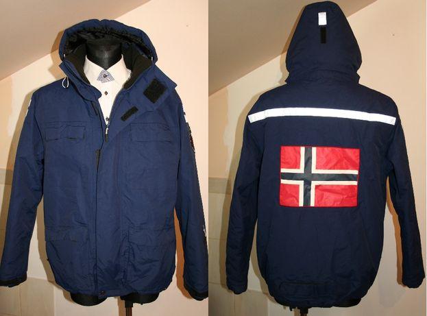 Kurtka Norvegian ekspedycja flage Norwegia, Europejska Kurtka męska