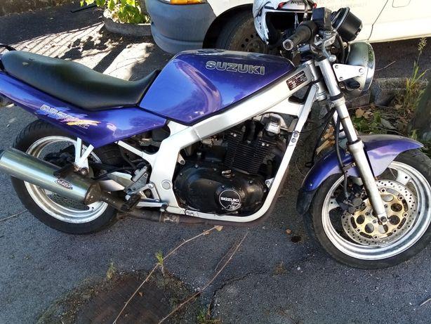 Vendo ou troco Suzuki GS 500
