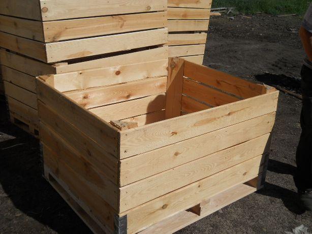 skrzyniopaleta skrzyniopalety dla ogrodnictwa do ziemniaków każdy wym