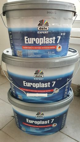 Краска Dufa Europlast 7(латексная) 10л