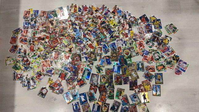 Duża kolekcja kart piłkarskich ponad 400szt