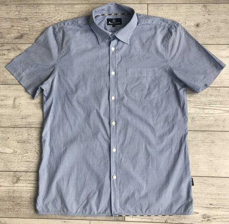 Сорочка\рубашка Aquascutum Check Short Sleeve Shirt