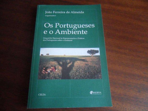 Os Portugueses e o Ambiente-Org. João Ferreira de Almeida