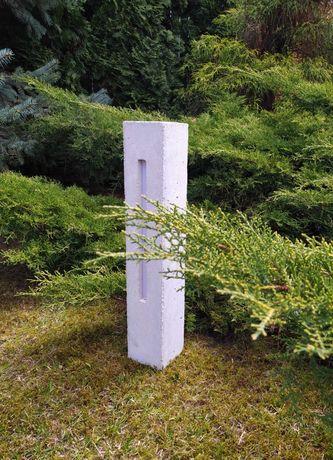 Betonowa lampa ogrodowa LUMIBET słupek oświetleniowy (12v)