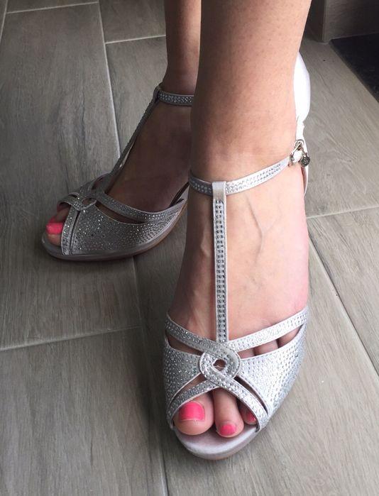 Sapatos Noiva/Cerimónia nº 41 Prateado/Cinza Fontinhas - imagem 1