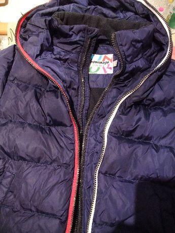 Зимняя пуховая курточка Snowimage Junior на мальчика.134см
