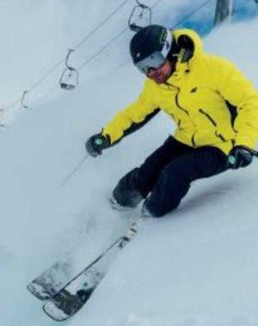 4F Nowa kurtka M męska żółta narciarska 20000 NeoDry płaszcz zimowa