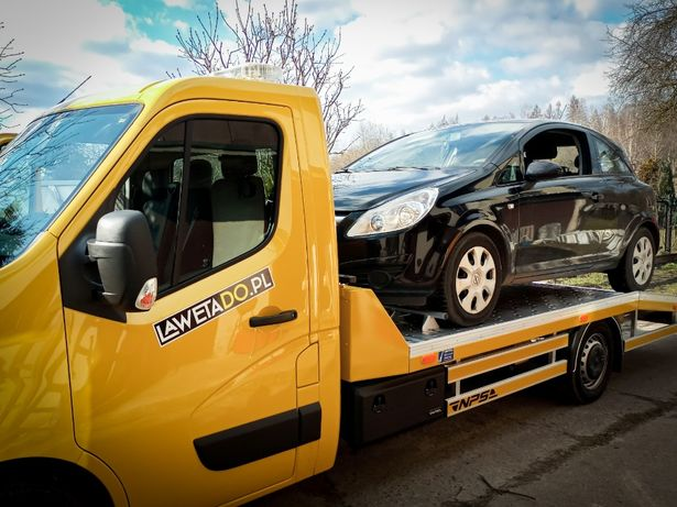 Pomoc Drogowa LAWETADO.PL 24h Auto Laweta Holowanie Assistance