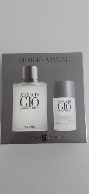 Giorgio  Armani  Acqua Di  Gio 100 ml. Zestaw. 100 ORYGINAŁ.  Paragon