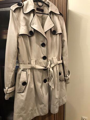 Плащ, пальто, куртка жіноча, бежева, весна/осінь