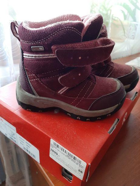 Зимние ботинки Reima ,оригинал,очень тёплые