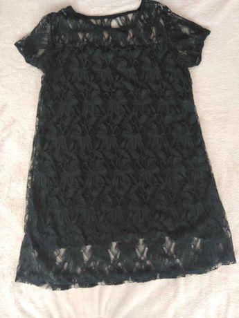 Vestido renda preto 42/44