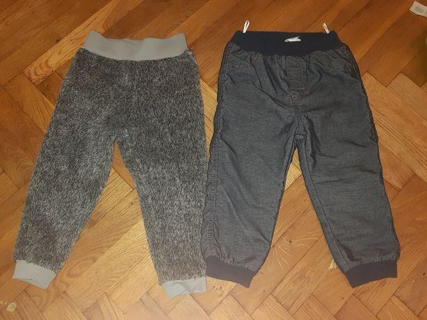 Spodnie ocieplane 86/92