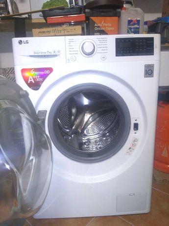 Maquuna lavar roupa LG 7Kg impecavel