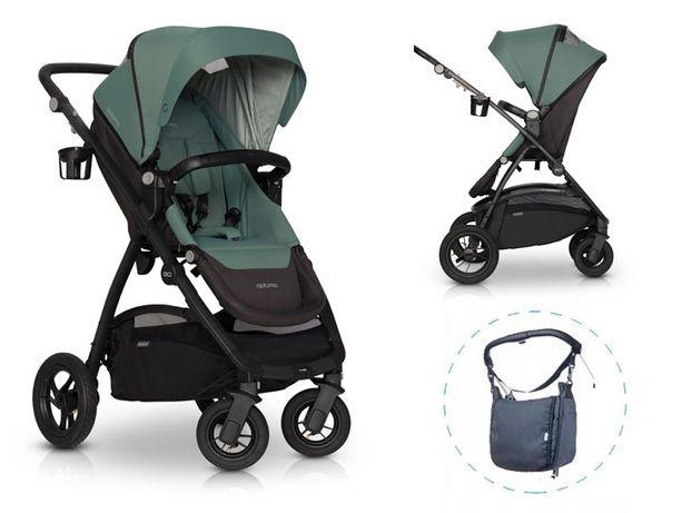 Wózek EasyGO Optimo 2020 Air do 22kg +Torba Gratis!