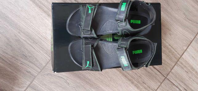 Кожаные сандали
