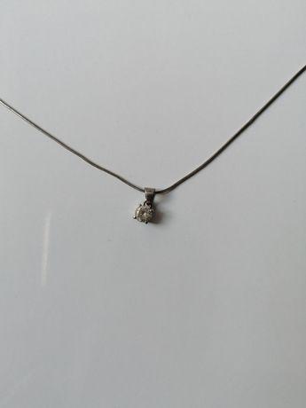 Цепочка с кулоном серебро 925