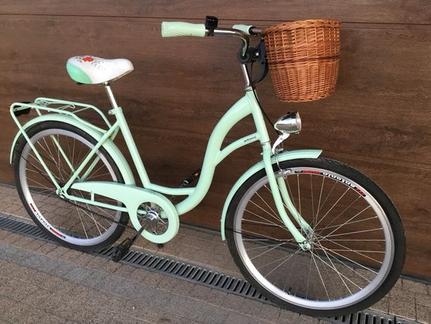 Rower 26' Vanessa z koszykiem