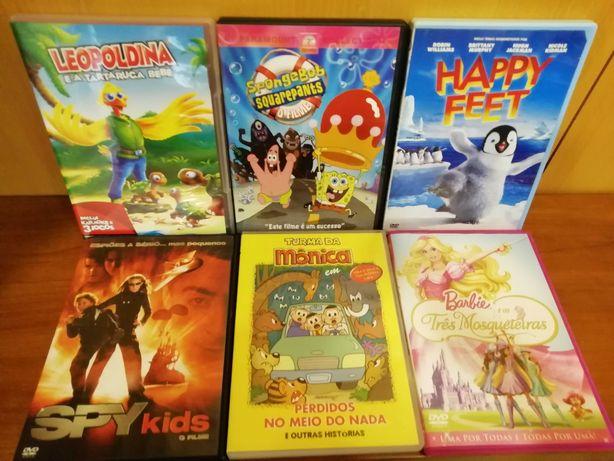 6 filmes de criança