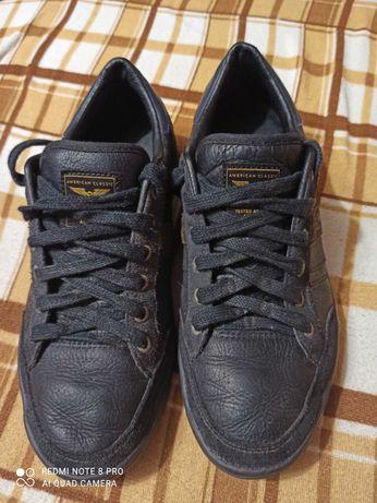 Кроссовки мокасины туфли кожа демисезон  р.40