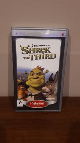 "STAN IDEALNY - Gra na PSP ""Shrek The Third"""