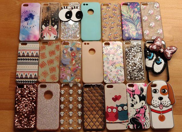 Zestaw 21 case na iPhone 5/5s/SE