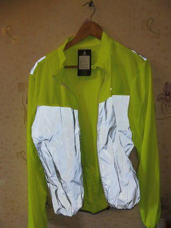 Куртка Rockbros XL Светоотражающая Для велосипеда Жилет Новый