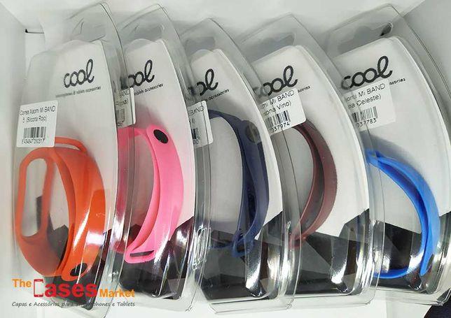 Braceletes silicone Xiaomi Mi Band 5 / Mi Band 6