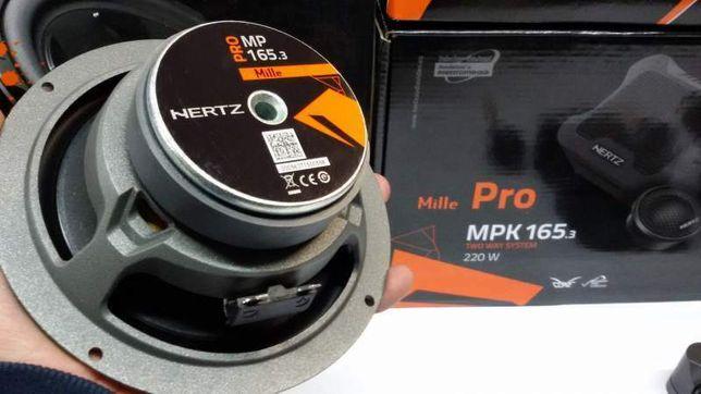 Hertz MPK 165.3 PRO новые с гарантией,Установка автомобильной акустики
