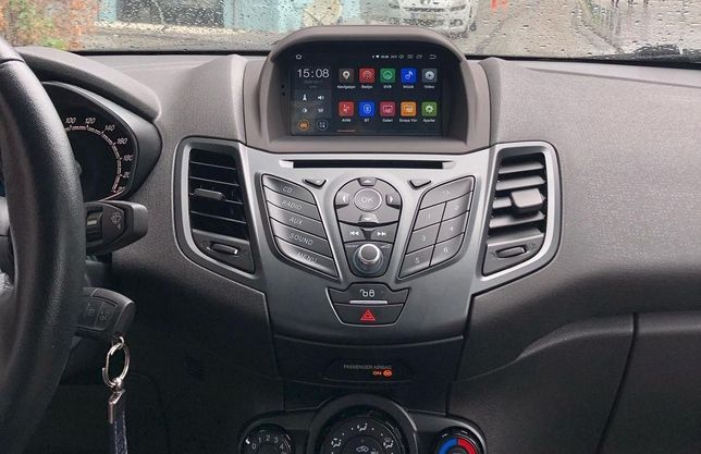 Auto radio Ford Fiesta Android GPS Bluetooth USB DVD