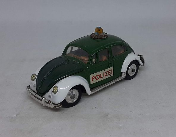 """Volkwagen 1200 """"POLIZEI"""" - CORGI TOYS No.492 1/43 Made in Gt. Britain"""