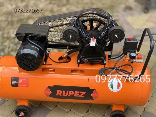 Воздушный компрессор Rupez CS100 3.5 кВ 640л/хв компресор поршневой