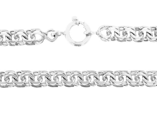 Compro fio de prata em malha friso