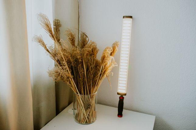 Jak nowa Przenośna lampa led plenerowa/studyjna fomei. Fotografia