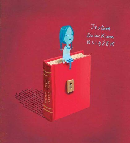 NOWA książka Jestem dzieckiem książek OLIVER JEFFERS / TEKTURKA