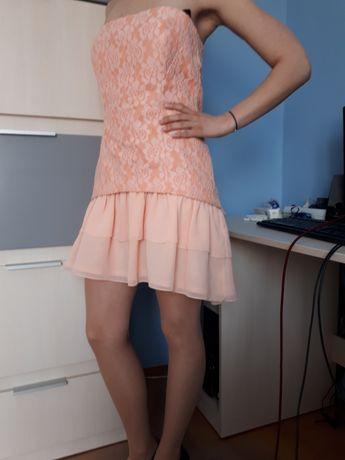 sukienka na gorsecie