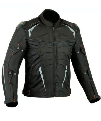 Kurtka motocyklowa nowa, tekstylna, wodoodporna. Rozmiary: L, XL i XXL