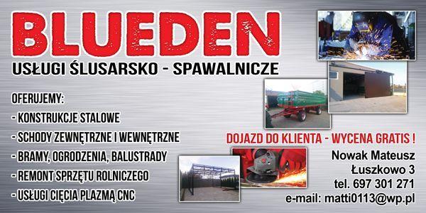 Usługi Ślusarsko-Spawalnicze (kapitalne remonty)