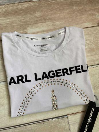 Nowy tshirt damski KARL LAGERFELD rozm. XS