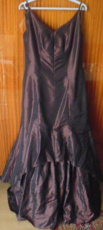 Brązowa sukienka rozm. 42-44