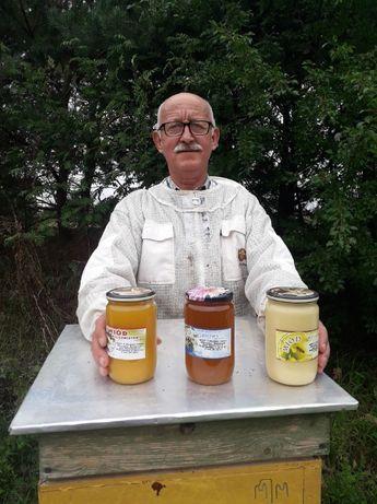 SPRZEDAM Miód , Pyłek pszczeli , Propolis (kit pszczeli ) i wosk