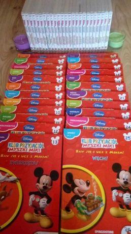 Kolekcja 25 plyt i książek klub przyjaciół myszki miki DE Agostini