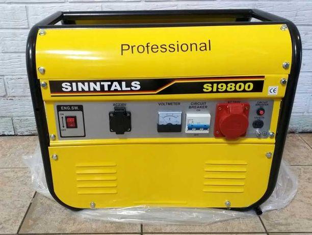 Agregat prądotwórczy 3 fazowy+230V SINNTALS SI9800